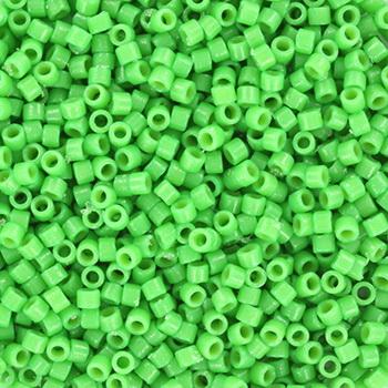 Extra pictures miyuki delica's 11/0 - duracoat opaque dyed fiji green