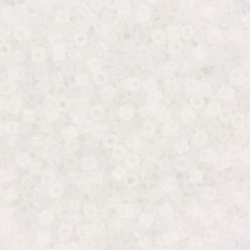 Extra foto's miyuki delica's 11/0 - opal white