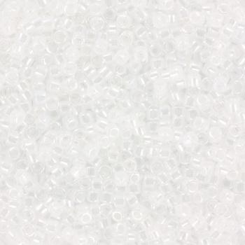 Extra foto's miyuki delica's 11/0 - ceylon crystal