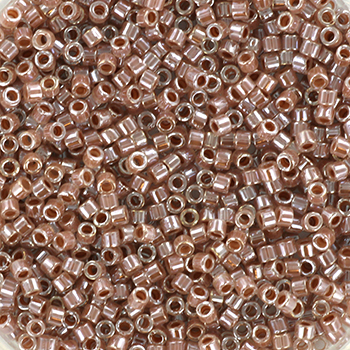 Extra pictures miyuki delica's 11/0 - ceylon light cinnamon