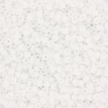 Extra pictures miyuki delica's 11/0 - matte ab white