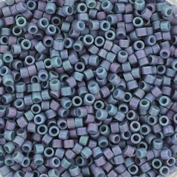 Extra pictures miyuki delica's 11/0 - metallic matte luster steel blue