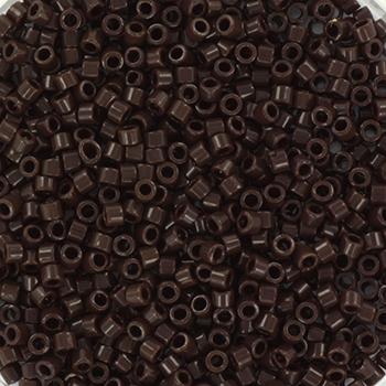 Extra foto's miyuki delica's 11/0 - opaque chocolate