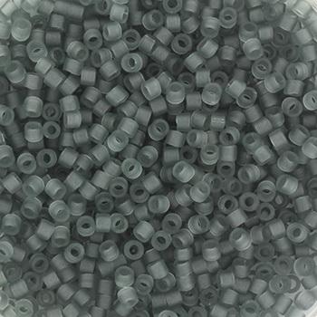 Extra foto's miyuki delica's 11/0 - transparant matte gray
