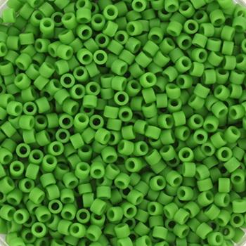 Extra foto's miyuki delica's 11/0 - opaque matte green