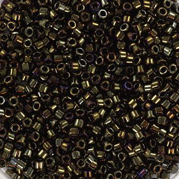 Extra foto's miyuki delica's 11/0 - metallic iris brown