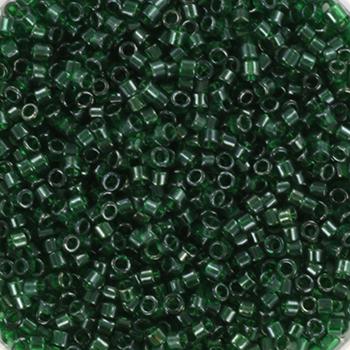 Extra foto's miyuki delica's 11/0 - transparant luster emerald