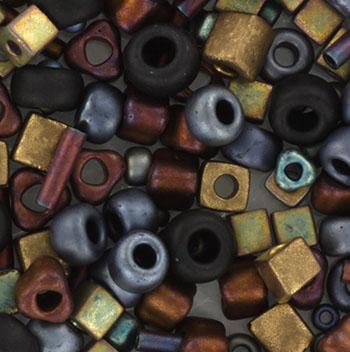 Extra foto's miyuki mix - flat iron