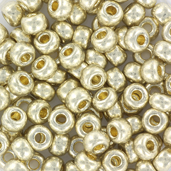Extra foto's miyuki rocailles 6/0 - duracoat galvanized silver