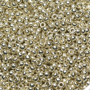 Extra pictures miyuki seed beads 11/0 - galvanized silver