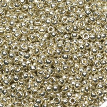 Extra foto's miyuki rocailles 11/0 - galvanized silver