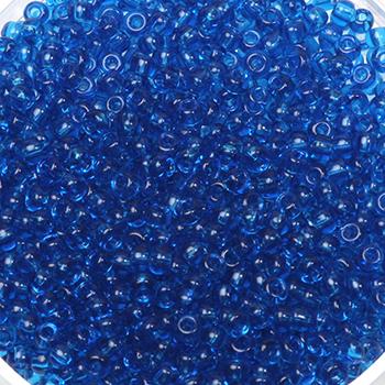 Extra foto's miyuki rocailles 11/0 - transparant capri blue