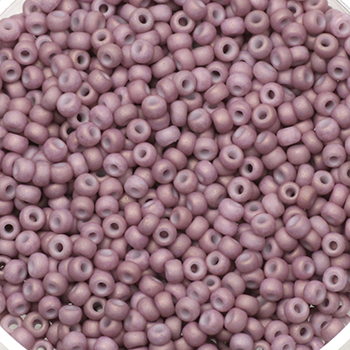 Extra pictures miyuki seed beads 11/0 - opaque matte light mauve