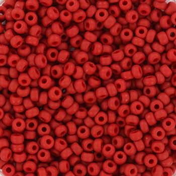 Extra foto's miyuki rocailles 11/0 - metallic matte brick red