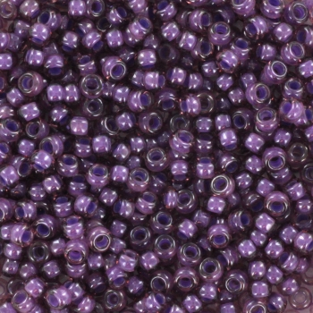Extra pictures miyuki seed beads 11/0 - fancy lined lavender