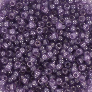 Extra foto's miyuki rocailles 11/0 - ceylon translucent lavender