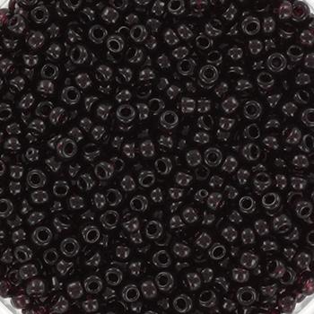 Extra foto's miyuki rocailles 11/0 - transparant extra dark smoky amethyst