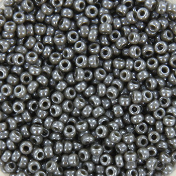 Extra pictures miyuki seed beads 11/0 - opaque luster smoke