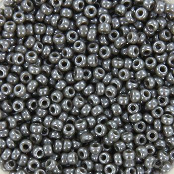Extra pictures miyuki seed beads 11/0 - opaque luster smoke