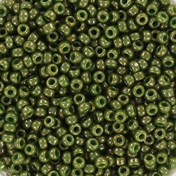 Extra pictures miyuki seed beads 11/0 - opaque luster kaki