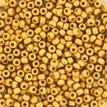 Extra foto's miyuki rocailles 11/0 - duracoat galvanized matte gold