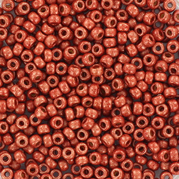 Extra pictures miyuki seed beads 11/0 - duracoat galvanized matte berry