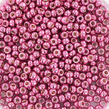 Extra foto's miyuki rocailles 11/0 - duracoat galvanized hot pink