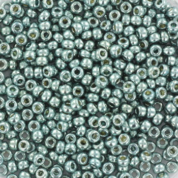 Extra pictures miyuki seed beads 11/0 - duracoat galvanized dark sea foam