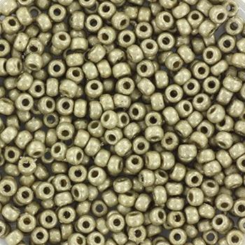 Extra pictures miyuki seed beads 11/0 - duracoat galvanized matte light pewter