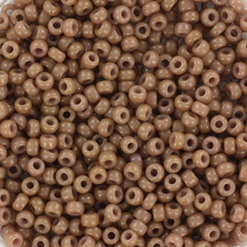 Extra pictures miyuki seed beads 11/0 - duracoat opaque beige