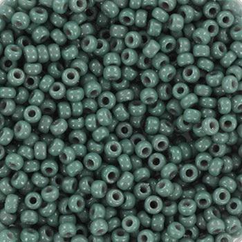 Extra pictures miyuki seed beads 11/0 - duracoat opaque eucalyptus