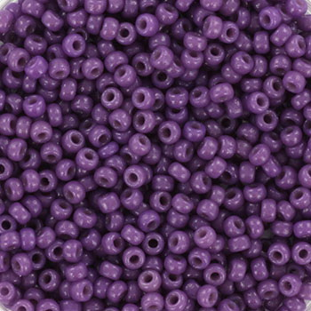 Extra pictures miyuki seed beads 11/0 - duracoat opaque anemone