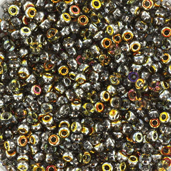 Extra pictures miyuki seed beads 11/0 - Czech coating crystal marea