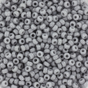 Extra pictures miyuki seed beads 11/0 - opaque gray