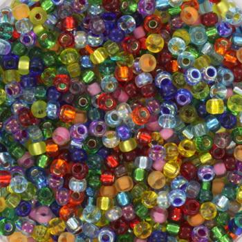 Extra foto's miyuki rocailles 11/0 - mix rainbow