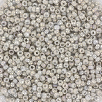Extra foto's miyuki rocailles 15/0 - opaque luster gray