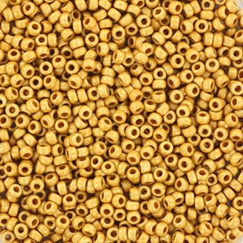 Extra foto's miyuki rocailles 15/0 - duracoat galvanized matte gold