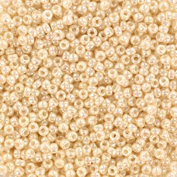 Extra foto's miyuki rocailles 15/0 - ceylon antique ivory pearl