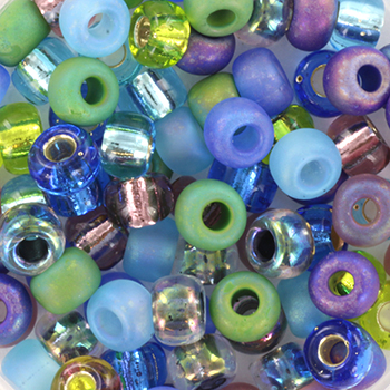 Extra pictures miyuki seed beads 5/0 - jeweltone