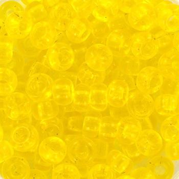 Extra foto's miyuki rocailles 6/0 - transparant yellow