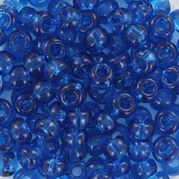 Extra foto's miyuki rocailles 6/0 - transparant capri blue