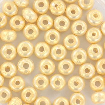 Extra foto's miyuki rocailles 6/0 - baroque cream