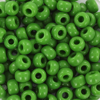 Extra foto's miyuki rocailles 6/0 - opaque green