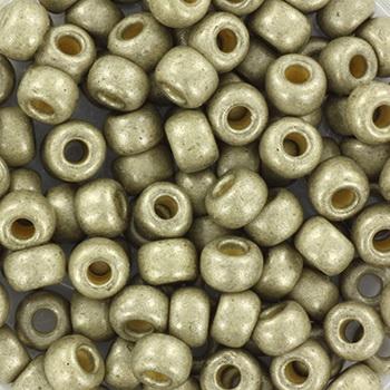 Extra foto's miyuki rocailles 6/0 - duracoat galvanized matte light pewter