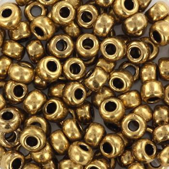 Extra foto's miyuki rocailles 6/0 - metallic dark bronze
