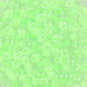 Extra foto's miyuki rocailles 8/0 - luminous green
