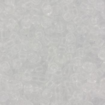 Extra foto's miyuki rocailles 8/0 - transparant crystal