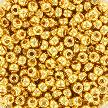 Extra foto's miyuki rocailles 8/0 - 24kt gold plated