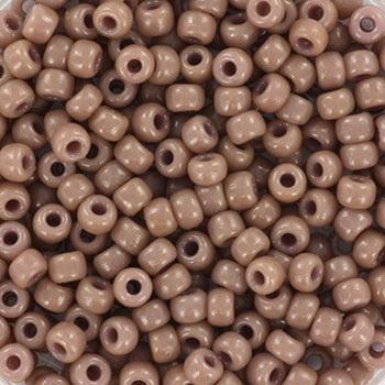 Extra pictures miyuki seed beads 8/0 - duracoat opaque beige