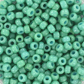 Extra pictures miyuki seed beads 8/0 - duracoat opaque sea opal